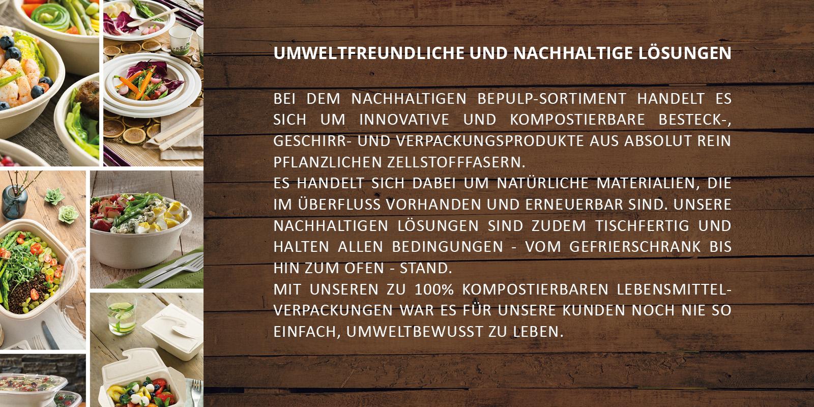 NACHHALTIGES BIOGESCHIRR