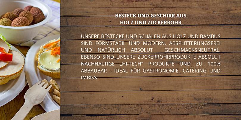 BIOGESCHIRR AUS HOLZ