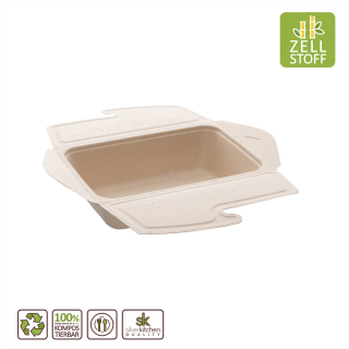 Meal Box, eckig, 1000 ml