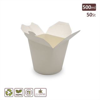 Food Box, Pappe, 500 ml