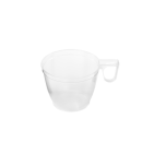 Kaffeetasse, transparent, 180 ml