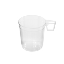 Kaffeetasse, transparent, 250 ml