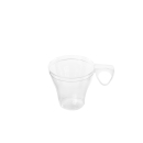Espressotasse, transparent, 80 ml