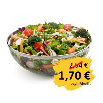 Bild Salatschüssel silber